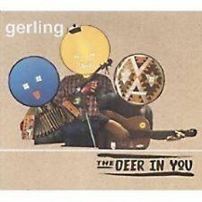 GERLING Deer In You w/ 2 REMIXES & VIDEO UK CD single SEALED Usa Seller