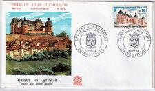 FRANCE FDC - 682 1596 2 CHATEAU DE HAUTEFORT - 5 Avril 1969