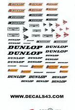 decals decalcomanie logo pour dunlop  divers  1/43