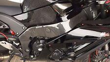 KAWASAKI ZX-10R 2011-2015 Carbon Fiber Frame Covers Panels Protectors Guards