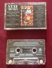 Stay Awake:  Music from Disney Films (1988, A&M) - Audio Cassette Tape