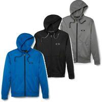 Oakley Men's Work It Full Zip Hoodie Training Track Jacket