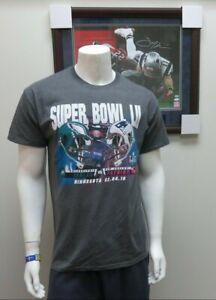 SUPER BOWL LII Philadelphia Eagles VS NE Patriots Dueling Helmets Grey T-Shirt