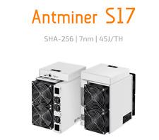 Bitmain Antminer S17 58TH/s, In Stock! Shipping in 24h!