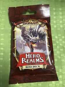 Hero Realms - Deck Building Game - Dragon Boss Deck - Brand New In Packet