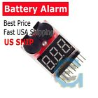 1-8S 2 in1 Low Voltage Meter Tester Buzzer Alarm for RC Li-ion Lipo Battery M307
