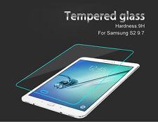 2x Hartglas Panzerglas Echt Glas für Samsung Galaxy Tab S2 9.7 T810 T815 9H 0,25