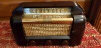 Antique RCA Victor Short Wave Tube Radio Model 66x1 Golden Throat Tone Working