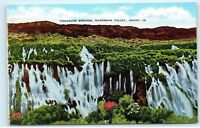 *Thousand Springs Hagerman Valley Snake River Canyon Idaho Vintage Postcard A18