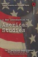 A New Introduction to American Studies by Temperley, Howard Bigsby, Christopher