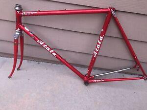 55cm Vintage Atala Road Bike Lugged Frame Set