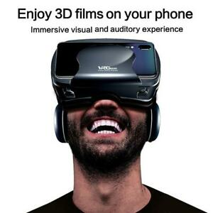 2 In1 VRG Pro + 3D VR Full-screen Durable Virtual Reality With A Large Headset F
