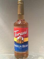 Torani Vanilla Bean Flavoring Syrup 750ml  Coffee Shop Size