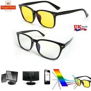 Computer Gaming Glasses Anti Blue Light Eye Fatigue Block UV Eyeglasses Filter l