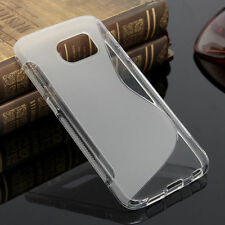 HOUSSE ETUI COQUE SILICONE GEL TRANSPARENT SAMSUNG GALAXY S6
