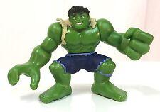 Marvel Super Hero Squad Variant HULK Light Green w/ Torn Shirt Hulk Wave 3  #080