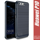 Cover Case Silicone Huawei P10 Funda Coque Rough Frosted Carbon Design Noziroh