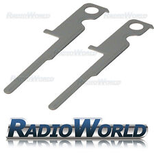 Kenwood Car CD Radio Removal Release Keys Stereo Extraction Tools Pins Pair (2)