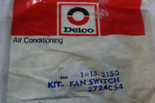 NOS OEM GM 1983-1988 Chevy S10 Fiero Skylark Cooling Fand Switch Delco 15-2150