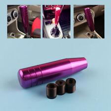 13cm Universal Long Plus Manual Car Gear Stick Shift Knob Shifter Lever Purple