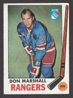 1969-70  TOPPS  #  39  DON MARSHALL   INV  J5233