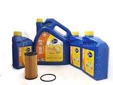 VAUXHALL VIVARO 1.6 CDTI 14-17 OIL FILTER + 8L LONG LIFE ENGINE OIL SERVICE KIT