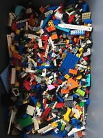 Bulk LEGO Minifig Lot! 5 Pounds, Plus 5 Minifigures, Pieces Free Shipping