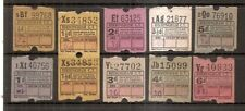 Ultimate Tickets - Birmingham City Transport - 9 different values