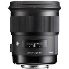 Sigma 50mm F1.4 DG HSM Art Lens - Sony FE Fit