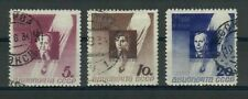 SU309L9 Russia 1934 Stratosphere Balloon Disaster Victims SG 659-61 used CV £30