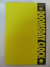 Doomsday Clock #12 DC Comics 2017 Series Watchmen Blank Variant 9.6 Near Mint+