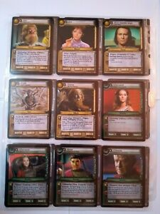Star Trek ccg These are the Voyages TATV 133 card set - w/o Parek, incl 12 foils