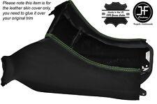 Green stitch console gear surround trim peau housse s' adapte à pour TOYOTA Celica 94-99