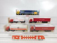 CA520-1# 5x Wiking 1:87/H0 Sattelzug MB: 526 Siemens + 541 + 547 + 510, OVP