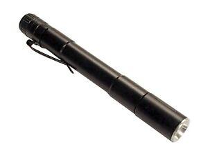 "400 Lumen (3) Mode Mini Waterproof Pocket LED Flashlight Zoomable (2) AAA 5"""