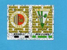 PANINI CALCIATORI 2001/2002- Figurina n.641- ASCOLI+AVELLINO - SCUDETTO -NEW