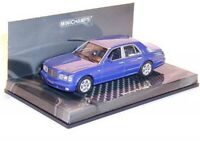 Bentley Arnage T (blue metallic) 1:43 Minichamps