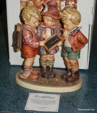 """School Boys"" Goebel Hummel Figurine #170/I Tmk7 W/ Box - $0.99 Starting Bid!"