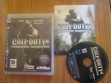 Call Of Duty 4 Modern Warfare ~~ Jeu PS3 Complet