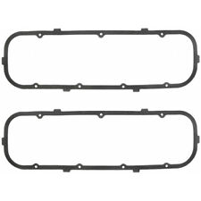 Fel Pro Valve Cover Gasket Set 1605; Cork Rubber w/ Steel Core for Chevy BBC