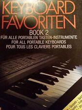 Keyboard favoritos Book 2-para todos los instrumentos de teclas