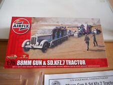 Model kit Airfix 88mm Gun & Sd. Kfz. & Tractor on 1:76 in Box