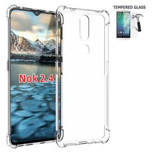Phone Case For Nokia 2.4 / 2.4 Case Transparent Gel TPU Cover