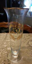 "Vintage ♡♡ Golden 50Th Anniversary ♡♡ 8"" Tall Vase"