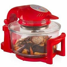 Andrew James 12L Digital Halogen Oven Cooker with Hinged Lid White 1.4kw