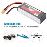 ZOP POWER 4S 14.8V 5500mAh Rechargeable LiPo Battery XT60 Plug for RC Car/Boat 9