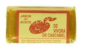 1 JABON ACEITE DE VIBORA (VIVORA) DE CASCABEL / RATTLE SNAKE SOAP BAR