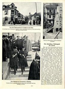 Rheinisches Fürstengrab Wollmesheim b.Landau Venedig Mordprozeß Tarnowska v.1910