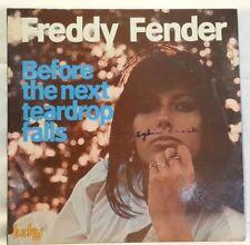 FREDDY FENDER - vintage vinyl LP - Before The Next Teardrop Falls