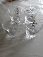 Bar 4 bicchieri whiky GRANT'S vintage